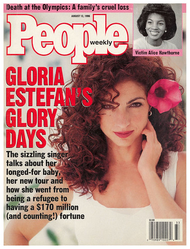 Gloria Estefan People Magazine Cover