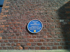 Photo of Boardwalk, Manchester blue plaque