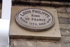 Photo of Louis Philippe I stone plaque