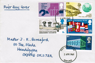 2-Apr-1969 UK First Day Cover