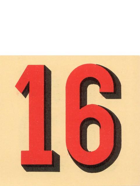 calendrier n16