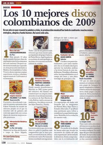 Edición Especial Revista Semana Diciembre 2009