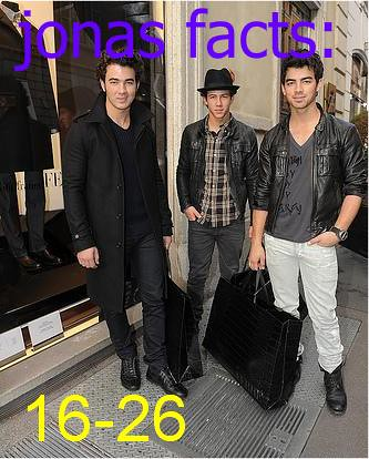 Jonas Facts: