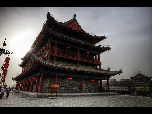 china city building wall architecture photoshop eos xian 5d hdr kaj markii photomatix 3xraw bjurman