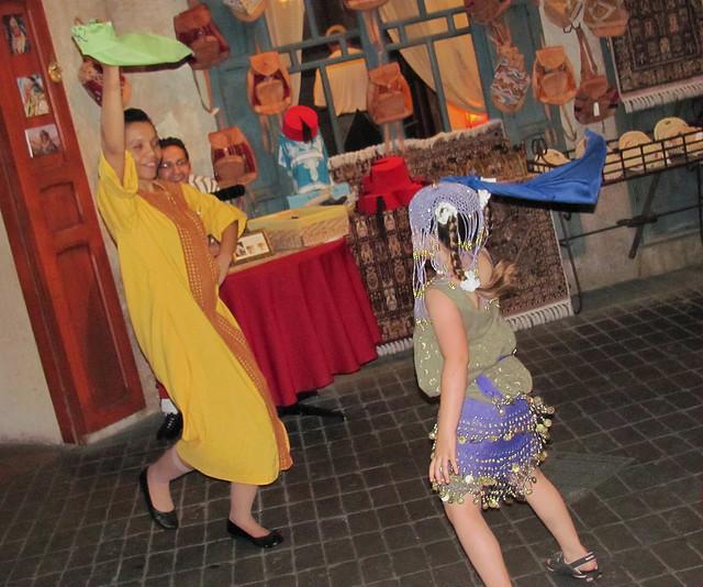 "Dancing In ""Morocco"""