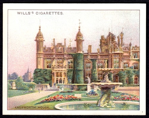 Cigarette Card - Knebworth House