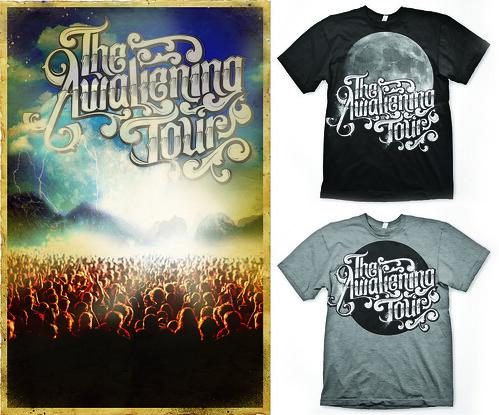 Awakening Tour Stuff