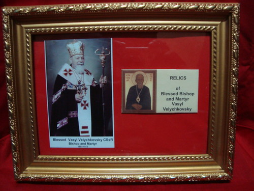 Bl. Vasyl Velychovsky, CSSR  - Exposition of Relics for Priest Saints and Blessed