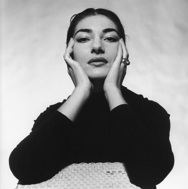 Maria Callas, by Cecil Beaton, 1957