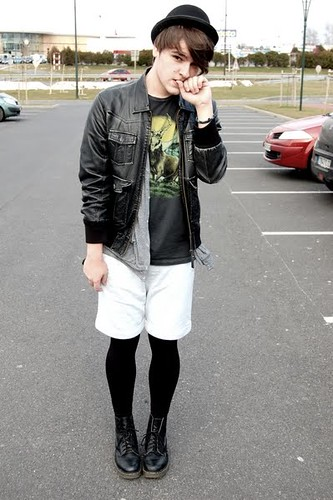High Contrast Shorts and Leggings