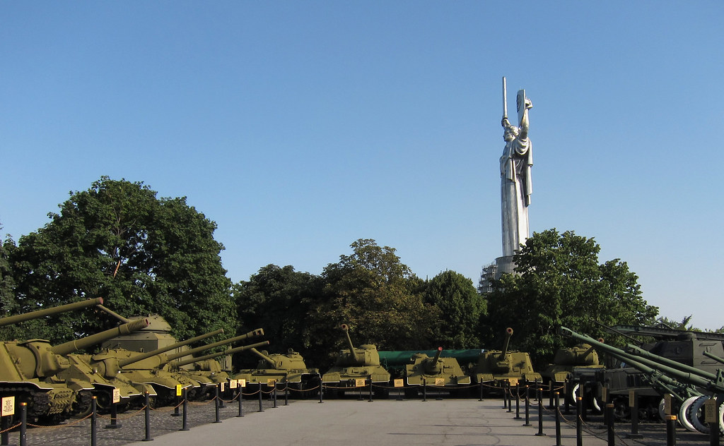 Motherland Monument & Tanks
