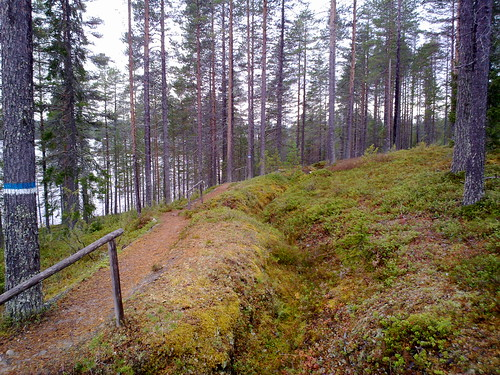kuusamo salpalinja juoksuhauta lahtela nokian868mp vanttajajärvi