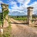 'An Old Gate', France, Saint Romain, Countryside