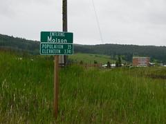 Molson City Limit Sign