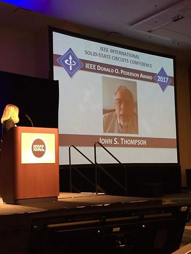 2017 IEEE Technical Field Award Presentations