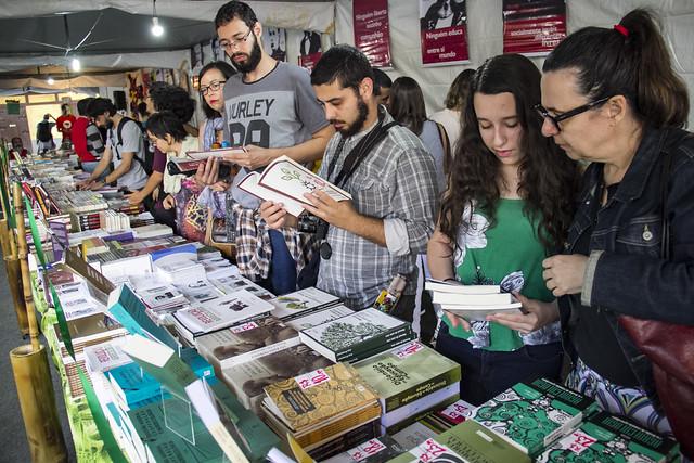 A editora esteve presente na 2° Feira Nacional da Reforma Agrária, realizada  em São Paulo, em maio - Créditos: Rica Retamal/Brasil de Fato