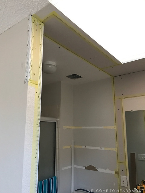 New Drywall Taped | Welcome to Heardmont