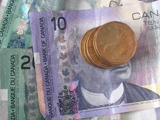 Canadian money - KittyCanuck - Flickr