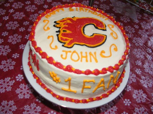 Calgary Flames Birthday Cake Flickr Photo Sharing