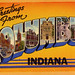 Greetings from Columbus, Indiana - Large Letter Postcard by Shook Photos