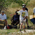 Mark Sharpe at the 2005 Johnny Roberts Memorial, Bird's Nest Disc Park.