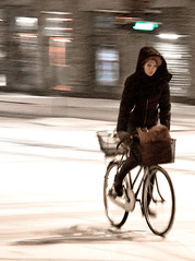Copenhagen Snow Glance - Cycling in Winter in Copenhagen