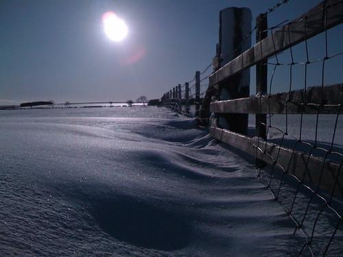 snow fence run uksnow roddymoor