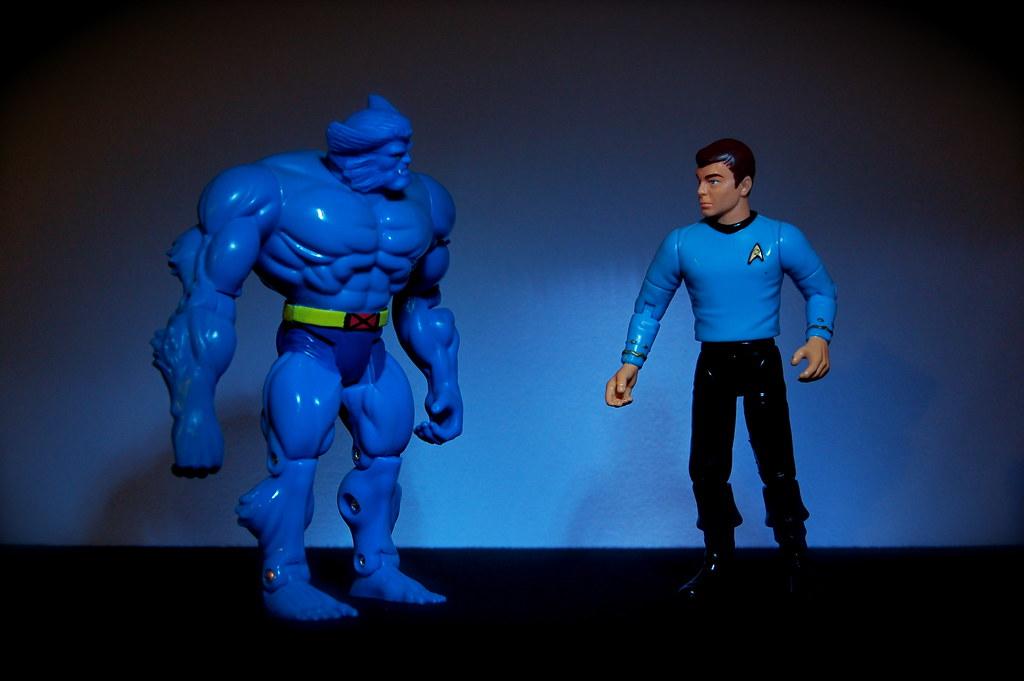 Dr. Hank McCoy vs. Dr. Leonard McCoy (11/365)