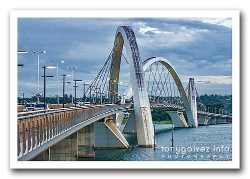 JK桥(JK桥)巴西利亚