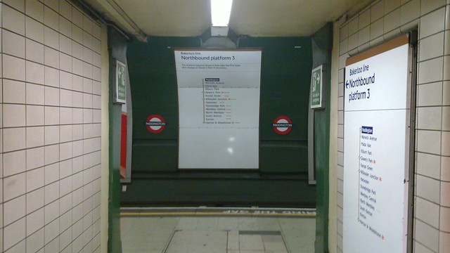 Bakerloo line - Paddington
