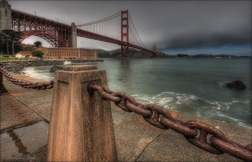 sanfrancisco bridge fog point interestingness fort marin explore goldengatebridge goldengate fortpoint sanfranciscobay marinheadlands 81 ggb sfchronicle96hrs