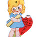 vintage valentine: mechanical ruler