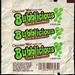 Chocolate Mint Bubblicious - Cool & Chocolaty - bubble gum package wrapper - 1980's by JasonLiebig