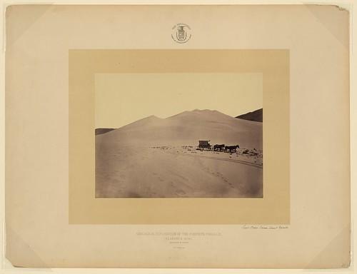 Sand dunes Carson Desert Nevada (LOC)