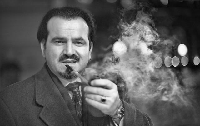 Pipe Smoking Gentleman