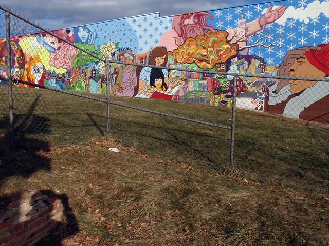 Sherman ave seasons mural flickr photo sharing for 4 seasons mural