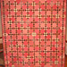 "Reproduction 1800s Pink & Brown ""Charleston"" Quilt"