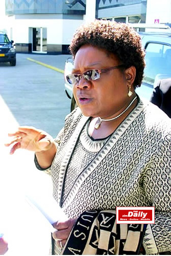Zimbabwe Vice-President Joice Mujuru of the ruling ZANU-PF Party inside this Southern African state. Zimbabwe has resisted efforts to destabilize the country by the western imperialists. by Pan-African News Wire File Photos