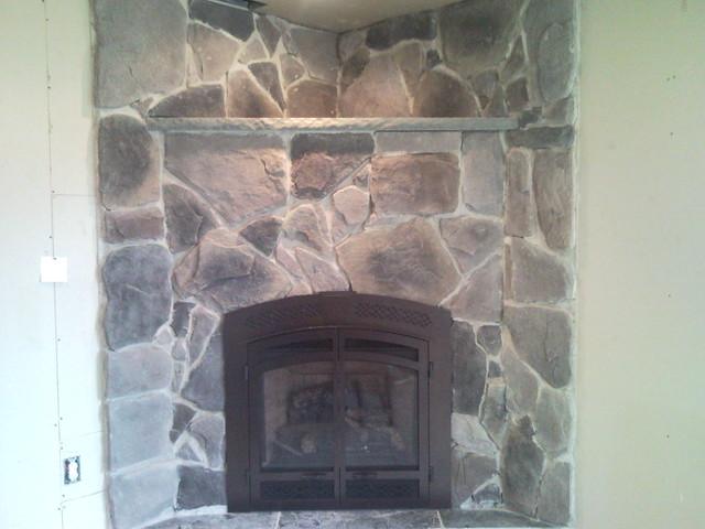 Stonecraft fieldstone fireplace after flickr photo for Stonecraft fireplaces