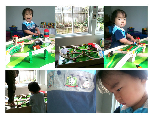 train table for 2nd birthday.