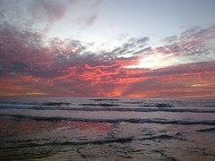 Mediterranean Sunset by Or Hiltch, on Flickr