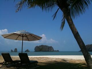 Immagine di Beach Spiaggia con una lunghezza di 1088 metri. travel beach malaysia pulaulankawi