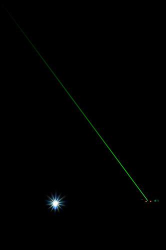 Greenwich Meridian Laser