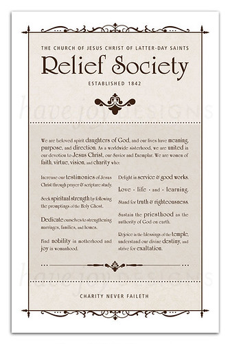 photograph relating to Relief Society Declaration Printable named LDS CHURCH DISTRIBUTION LDS CHURCH DISTRIBUTION