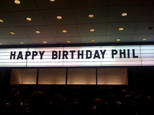 Happy Birthday Phil