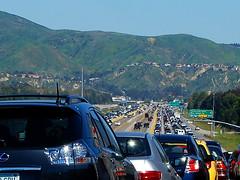 91 Freeway Traffic