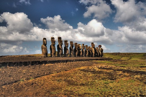 Easter Island Ahu Tongariki (18.000+ views!)