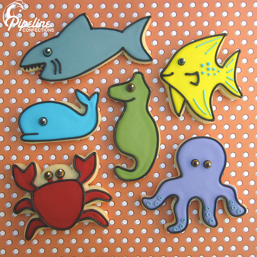 Under The Sea Cookies