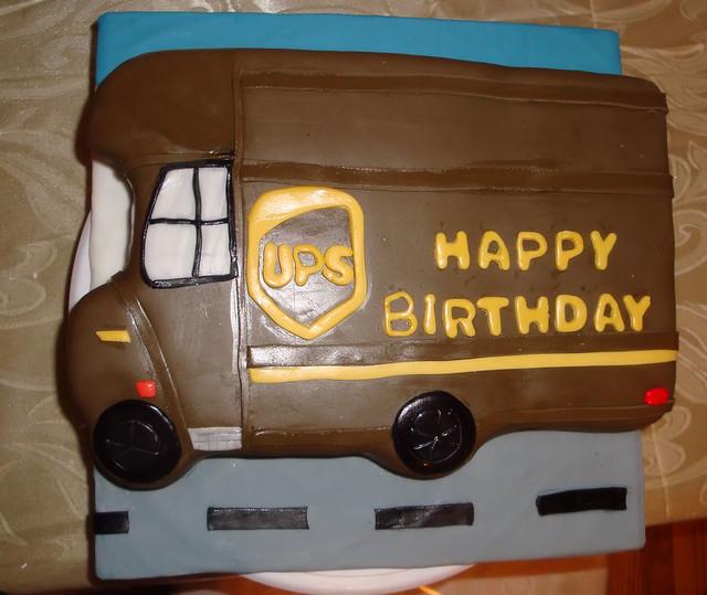 Truck Driver Cake