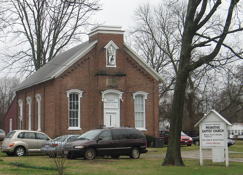 Thompson Memorial Primitive Baptist Church, Franklin, Ohio